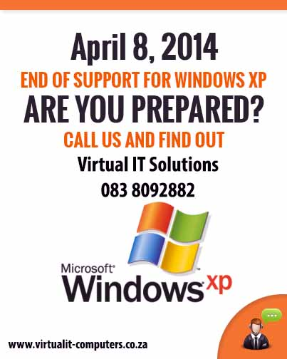Windows XP Come to and end