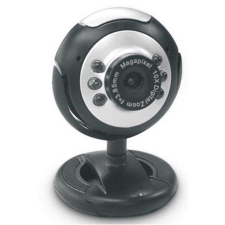 Dynamode M-1100M Webcam, 2 0MP, Mic, Snapshot Button, Blister Pack